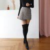 렛츠슬림 오버니하이 니삭스 패션 패턴 스타킹