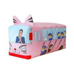 짱구 유치원버스 바디쿠션 80cm