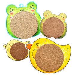 개구리 병아리 냄비받침5인용(2종 택1)