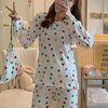스타잇 하모니화이트 파자마 짱구 잠옷 세트(파우치 포함)