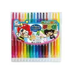 16색 투명이 색연필