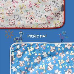 피크닉매트 동물친구들 Mini -2color