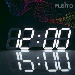플라이토 컬러 3D LED 인테리어 벽시계 시즌4 38cm