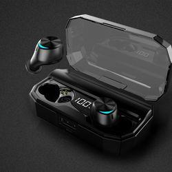 디셈 IPX6 방수 블루투스 이어폰 DBT-S300 보조배터리 겸용