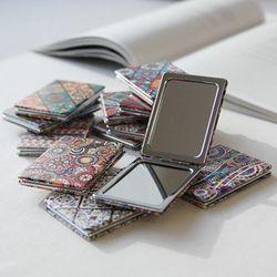 휴대용 미니 거울(디자인 랜덤 발송)