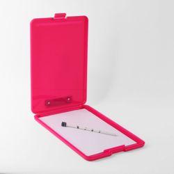 A4 클립보드 화일케이스(핑크)