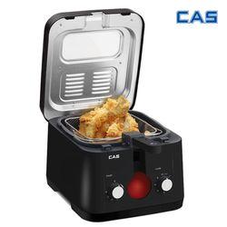 카스 대용량 가정용 튀김기 YZG-250 치킨 감자튀김