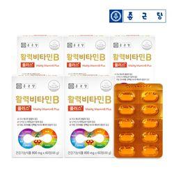 종근당 활력비타민B 5박스