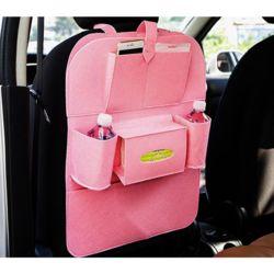 루이 차량 수납포켓(핑크)