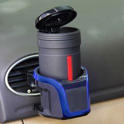 저스토 스마트폰거치 자동차 컵홀더(블루)