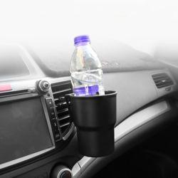 저스토 듀얼클립 자동차 컵홀더(블랙)