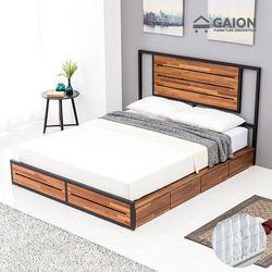 우드스틸 서랍형 침대 K 포켓매트