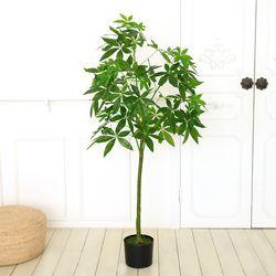 인테리어조화 인조나무 조화화분 파키라 150