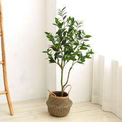 인테리어조화 인조나무 조화화분 베이트리 월계수 120