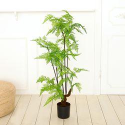 인테리어조화 인조나무 조화화분 후미타고사리 90