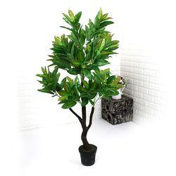 인테리어조화 인조나무 조화화분 세미 제브라 135