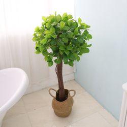 인테리어조화 인조나무 조화화분 베이토피어리 1단 120