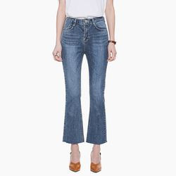 LW032 WASHING BOOTSCUT DENIM JEANS