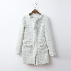 Tweed Pocket Lady Jacket