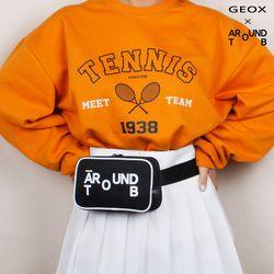 [GEOX] TENNIS WAISTBAG BLACK 테니스웨이스트백 블랙