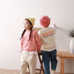포스트맨투맨티셔츠 2컬러아동복주니어