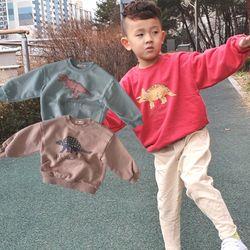 공룡 맨투맨 티셔츠 3컬러아동복주니어