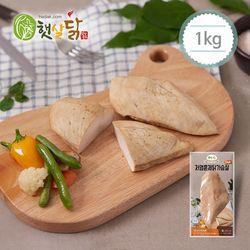 저염훈제 닭가슴살플러스 1kg(100gX10팩)