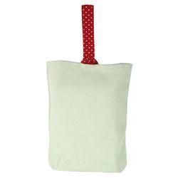[반제품]에코가방-땡땡이 손가방