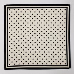 Dot And Square Scarf