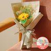 [LOVE픽]쥬아나 한송이 해바라기 비누꽃다발 화이트데이 선물