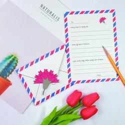 카네이션 편지&봉투 만들기 패키지 DIY (5인)