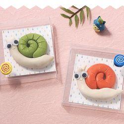 [아트랄라]달팽이비누만들기(4개)손씻기손세정제천연솝클레이
