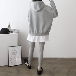[Set] Hood Sweatshirt   Leggings
