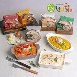 햇살닭 닭가슴살 리조또 5종 패키지 220gX5팩