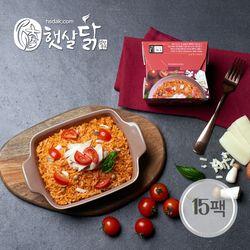 토마토 닭가슴살 치즈 로제 리조또(220gX15팩)