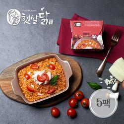토마토 닭가슴살 치즈 로제 리조또(220gX5팩)