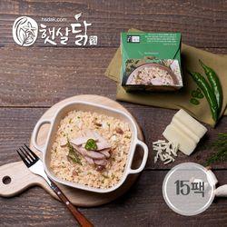 청양고추 닭가슴살 치즈 크림 리조또(220gX15팩)