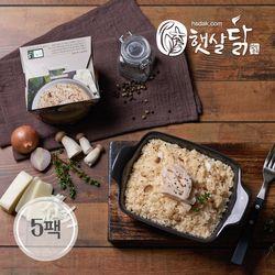 페퍼콘 닭가슴살 치즈 크림 리조또(220gX5팩)
