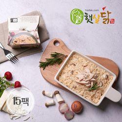 오리지널 닭가슴살 치즈 크림 리조또(220gX15팩)