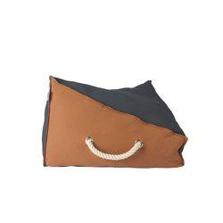 The Standard Double Cushion Tan Brown