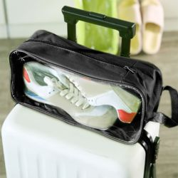스톨백 휴대용 신발파우치(블랙)