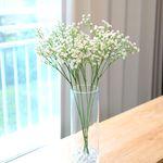 안개꽃 조화 인테리어 소품 장식 고급 안개꽃 가지(5pcs) 화이트