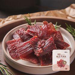 [무료배송] 허닭 쇠고기 육포 오리지널 15g  10팩