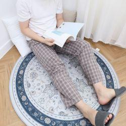 자체제작 남여 공용 잠옷 바지 잔체크 코코아 L 커플