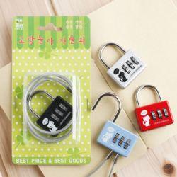 60cm 와이어 번호 자물쇠