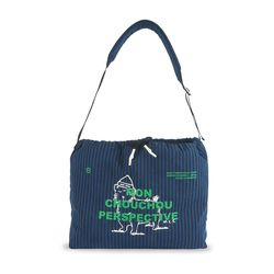 MCC Perspective Sling-Bag Navy Stripe