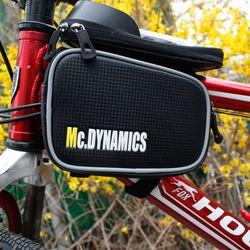 탑튜브 더블 스마트폰가방 자전거가방 라이딩가방
