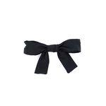 pretty ribbon hairpin (black)