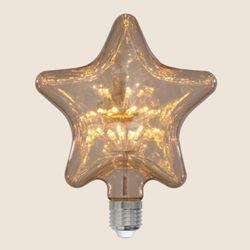 더쎈 LED 에디슨 눈꽃 별 램프 LED 2.5w 전구색