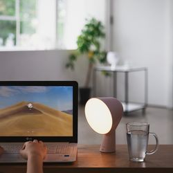 라이프썸 무선 LED 무드등 (LFS-HA25) 베이비핑크